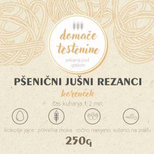 Pšenični Jušni Rezanci KORENČEK 250g