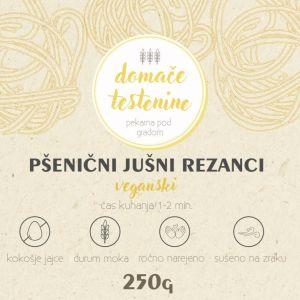 Pšenični Jušni Rezanci  VEGANSKI 250g